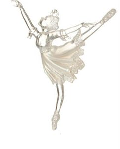 Ballerina Christmas Ornament