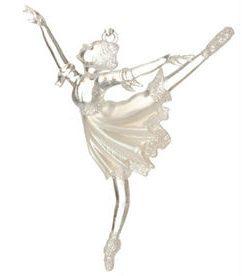 Ballerina Christmas Ornament
