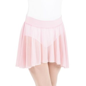 child pull-on skirt - light pink