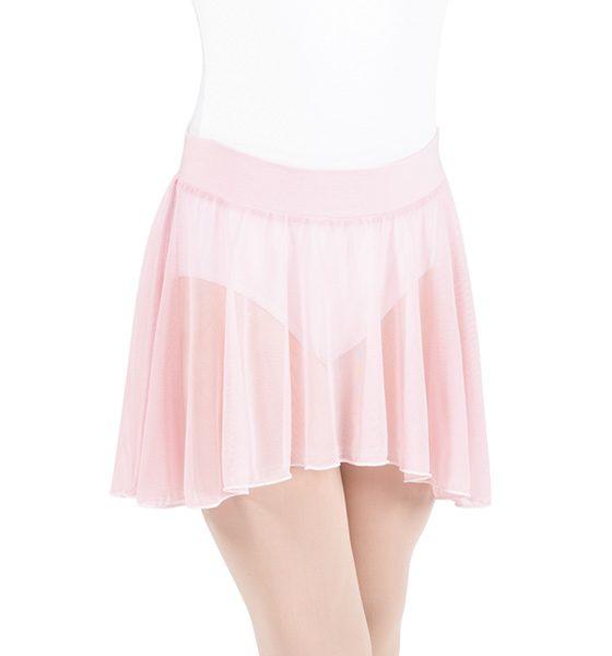 child pull-on skirt - light pink