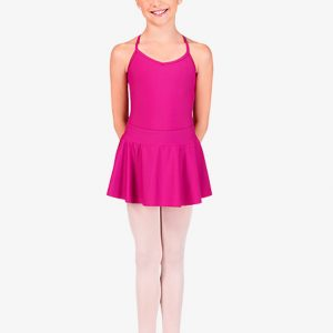 child skirt - hot pink
